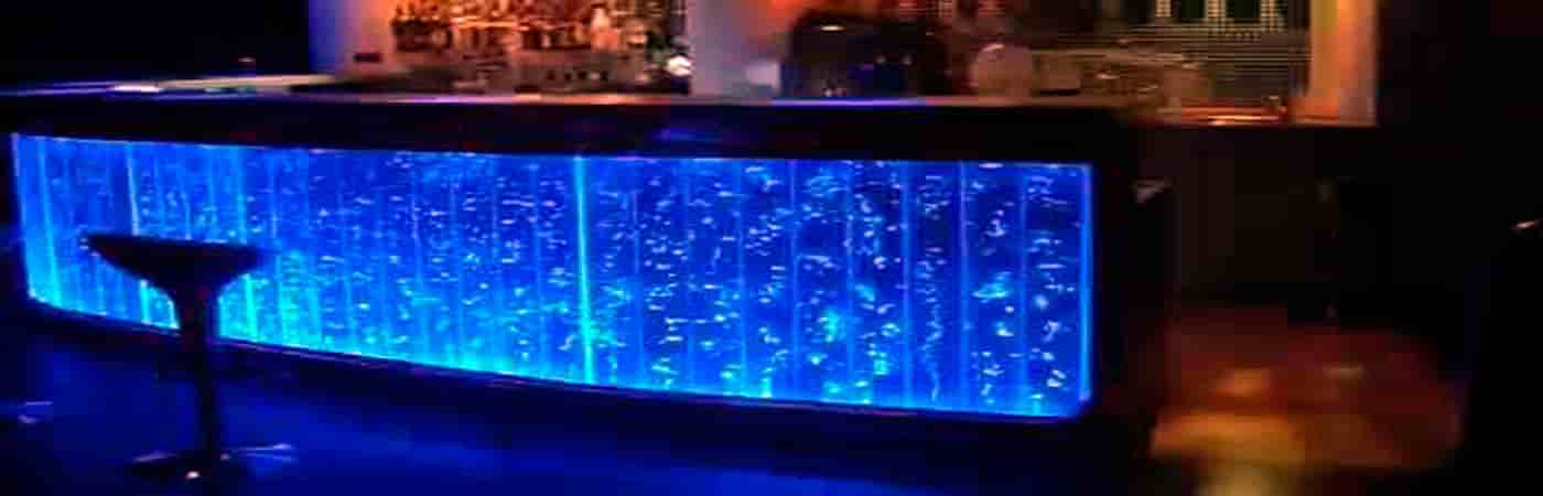 Пузырьковая панель для барной стойки