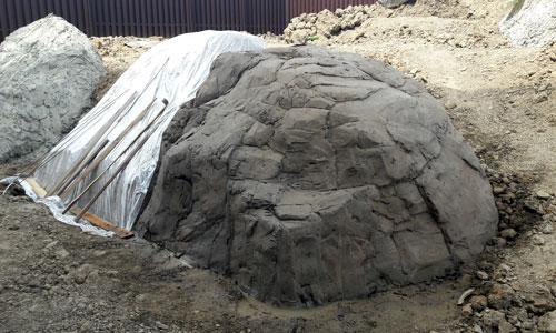 Технология отливки скал