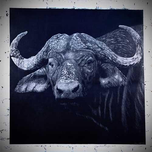Картина с изображением животного