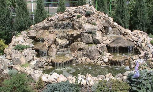 Купить водопад для дачи