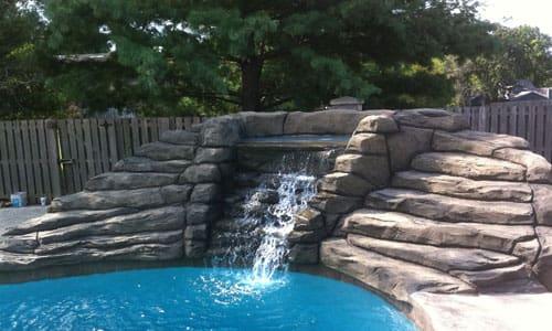 Купить декоративный водопад