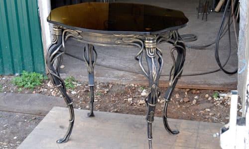 Купить кованый стол