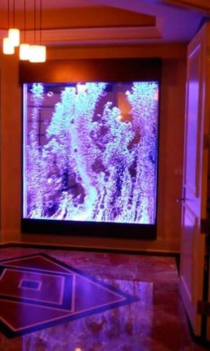 Пузырьковая монопанель в холле