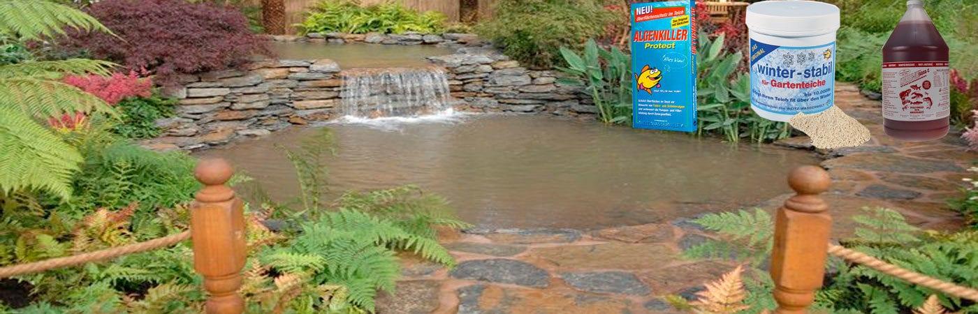 Очистка воды в водоеме