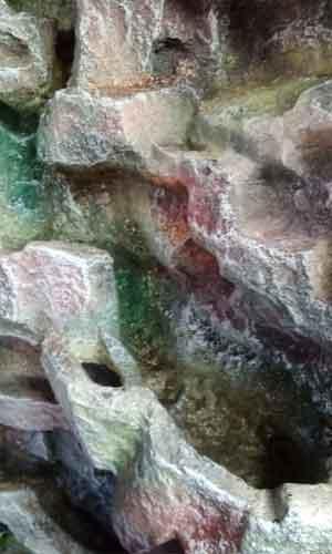 Резьба пластикового водопада