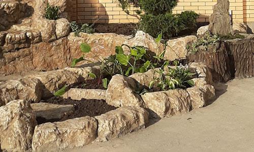 Альпинарий из бетона