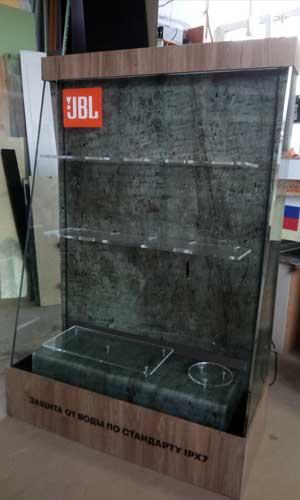 Рекламный водопад в офис