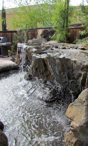 Водопад в частном доме