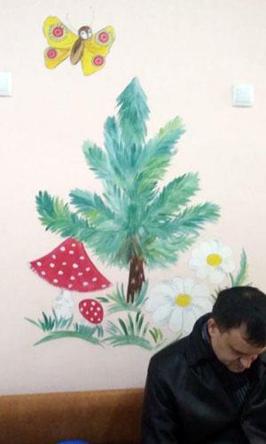 Нарисованные декорации